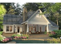Farmhouse House Plan with 2575 Square Feet and 3 Bedrooms from Dream Home Source | House Plan Code DHSW076616