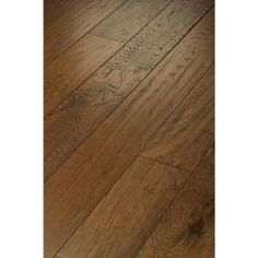 TrafficMASTER Western Hickory Espresso 3/8 in. x 3 1/4 in. x Random Length Engineered Hardwood (19.80 sq. ft. / case)-DH77800879 - The Home Depot