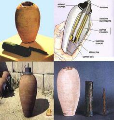 5 achados históricos que ainda não foram decifrados   -  A bateria de Bagdá.