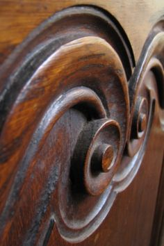 Beautiful carved wood