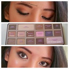 Makeup Look : Chocolate Bar Palette by Too Faced