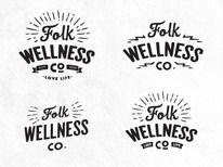 Dribbble - Folk Logo Concepts by Dustin Haver — Designspiration