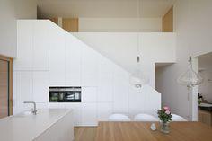 Haus DB Klaus — ARCHITEKTUR Jürgen Hagspiel Concrete Wood, House On A Hill, Architect Design, Cabana, Indoor, Ceiling Lights, Inspiration, House Ideas, Villa