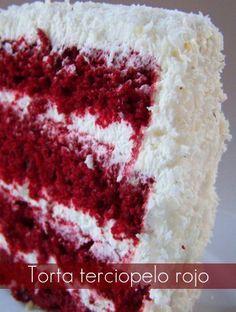 Esta torta es super popular en Canadá y los Estados Unidos. Es muy linda... y muy rica también! La receta también la encontré en la página J... Mini Cakes, Cupcake Cakes, Cupcakes, Sandwiches, My Dessert, Just Cakes, Happy Foods, Sweet Cakes, Something Sweet