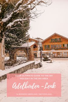 Our favorite ski resort Adelboden in Bernese Oberland was a great choice for a few days' mom & daughter ski holiday. Family Ski, Family Travel, Adelboden, Hotel Bristol, Ski Holidays, Ski Resorts, Mom Daughter, Travel News, Bern