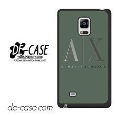 Armani Exchange DEAL-958 Samsung Phonecase Cover For Samsung Galaxy Note Edge