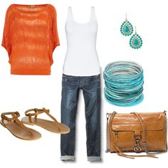 Summer look, created by kemill530.polyvore.com