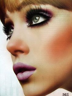 Twiggy Eye Makeup Tips - Makeup Looks - Makeup Trends, Makeup Tips, Hair Makeup, Makeup Ideas, Beauty Make Up, Hair Beauty, 1970s Makeup, Retro Makeup, Vintage Makeup