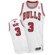 ... Red Jersey Mens Chicago Bulls 3 Dwyane Wade Black Pinstripe Revolution  30 Swingman Adidas Basketball Jersey NBA jersey ... 8c136f94a