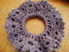 Crocheted hair accessory