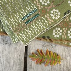 fforest field green welsh blanket