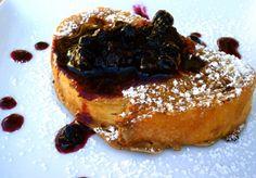 Blueberry Cinnamon French Toast - use GF flour Vegan, Chef Chloe