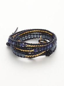wrap bracelet by chan luu