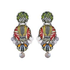 Ayala Bar Design official online store - Handmade fashion jewelry & accessories Huge selection of earrings, necklaces, bracelets and more. Bar Earrings, Bar Necklace, Swing Song, Ayala Bar, Summer Necklace, Color Shapes, Brass Metal, Crystal Rhinestone, Jewelry Accessories