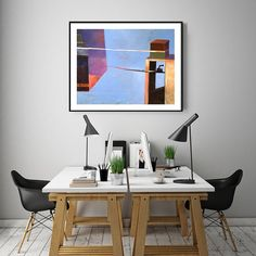 Painting Print, Giclee Print of Acrylic Painting Abstract Art, Wall Art, Surreal Painting