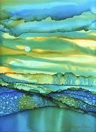 Afbeeldingsresultaat voor Abstract alcohol Ink abstract alcohol ink by ArtworksEclectic, $15.00