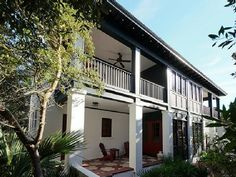 Hideaway Cottage* South of * Rosemary Charm* - Rosemary Beach Beach Cottage Rentals, Beach Vacation Rentals, Vacation Ideas, Deck Posts, Rosemary Beach, Panama City Beach, Beach Cottages, Ideal Home, Patio