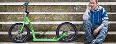Koloběžka Olpran A11 zelená | KASA.cz Bicycle, Vehicles, Bike, Bicycle Kick, Bicycles, Car, Vehicle, Tools
