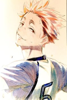 #tendou #hq i'm really love this guy
