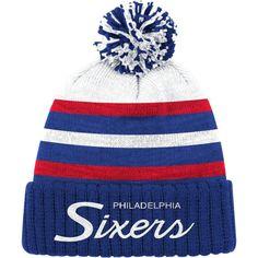 08e06ff5fbc Mitchell   Ness Men s Philadelphia 76ers Cuffed Knit Hat