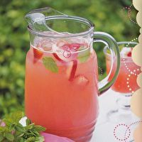Punch: Sparkling Mint and Strawberry Lemonade by PUNCH