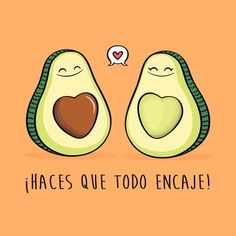You are my avocado half . Strong Love Quotes, Romantic Love Quotes, Funny Images, Funny Pictures, Frases Love, Cute Avocado, Mr Wonderful, Love Phrases, Spanish Memes