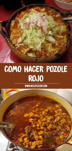 Pork Recipes, Mexican Food Recipes, Cooking Recipes, Holiday Recipes, Great Recipes, Xmas Dinner, Comida Latina, Creative Food, Soups And Stews