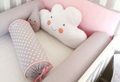 Let's Decorate Your Babie's Crib! Get the whole Crib set At amazing rates❤️ . Sourced from and can remake according to your customisations 😊 . Baby Bedroom, Baby Room Decor, Kids Bedroom, Crib Accessories, Baby Kit, Kids Corner, Girl Room, Girl Nursery, Baby Sewing