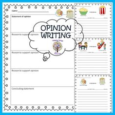 Get your students excited and engaged while writing, they will be eager to share their opinions on Indoor recess versus outdoor recess, bacon and eggs versus pancakes, and potato chips versus popcorn. Students write to express their opinion, and no one will be saying I can't think of anything to write