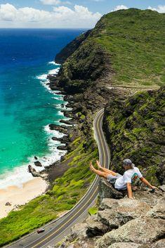 TOM TOM TRAIL ON OAHU HAWAII