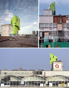 Parasitic Architecture: 15 Precariously Perched Structures | 3 | Urbanist