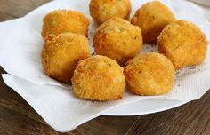 Get this tested recipe for gluten free arancini, Italian fried rice balls, made gluten free, crispy and delicious!