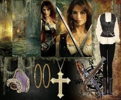 Penelope Cruz as Angelica in Pirates of the Caribbean: On Stranger Tides