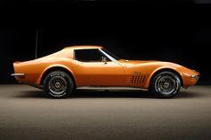 1972 - Corvette Stingray last of the bumper cars....
