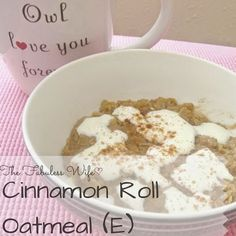 One of my favorite recipes pre-THM was Cinnamon Roll Oatmeal. This oatmeal was cooked in milk, so it was super creamy, was laced with the perfect brown sugar cinnamon mix and was topped with a creamy icing. It probably had as much sugar as three donuts! I've been craving a breakfast similar to my old [...]
