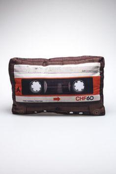 DCI Design Retro Pillow: Cassette