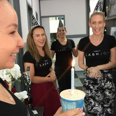 [Sound On ] When your beautiful @brisbanelashes & @lashjoy_ Team surprises you with a belated happy birthday!!  So sneaky!  Thank you so much lovelies xx #myteamisawesome #lashfamily #mybirthday