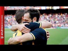 ATLETICO DE MADRID CAMPEON DE LIGA 13-14. Como lo vivieron los jugadores.