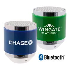BOOM! Bluetooth (R) Bullet Speaker. Plugs into any audio device (iPod, iPad, Android, Samsung) and palsy your tunes. Or connects via Bluetooth for wireless audio.