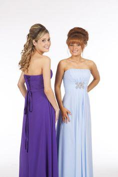 Bridesmaid Dress but in Purple
