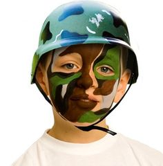 Face painting - American flag colors, yellow ribbons, and of course classic army colors will all be a must.