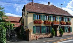 ... Bonjour Alsace: Restaurant-Rôtisserie Belle-Vue, Wissembourg-Altenstadt