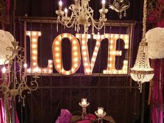 {DIY Marquee Letters}