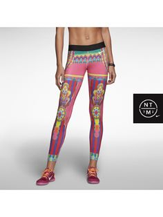 WANT! The Nike Pro Magical Kaleidoscope Women's Tights.
