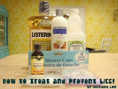 Lice treatment and preventative. I am not looking forward to lice.