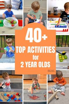 40+ Top Activities for Two-Year-Olds — Days With Grey