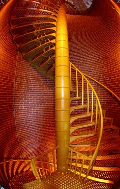 Barnegat Lighthouse, Barnegat Light, NJ by Adam Arroyo. Grand Staircase, Staircase Design, Barnegat Lighthouse, Long Beach Island, Take The Stairs, Stair Steps, Beacon Of Light, Stairway To Heaven, Architecture