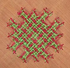 motif-7-motif2 Hand Embroidery Videos, Embroidery Works, Indian Embroidery, Embroidery Dress, Embroidery Techniques, Embroidery Stitches, Embroidery Designs, Kutch Work Designs, Herringbone Stitch