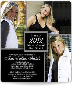 Magnetic Graduation Announcements - Senior Pictures