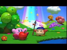 Kirby and the Rainbow Curse intro
